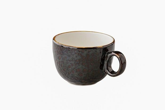 Q Authentic Jersey latte kop st.b. 35 cl donkerbruin