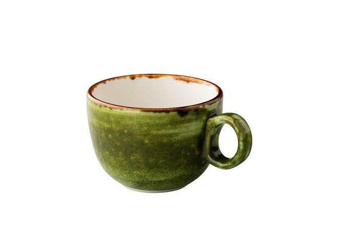Q Authentic Jersey latte kop st.b. 35 cl groen