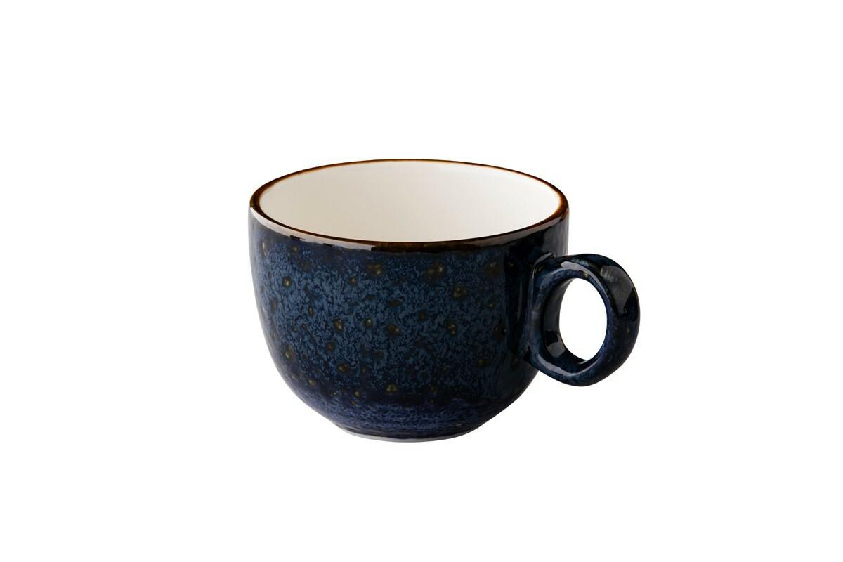 Q Authentic Jersey latte kop st.b. 35 cl donkerblauw