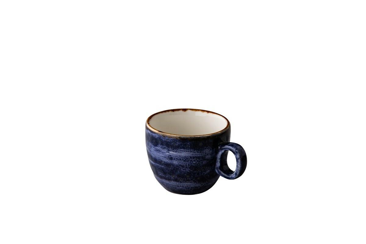 Q Authentic Jersey espressokop 8 cl donkerblauw