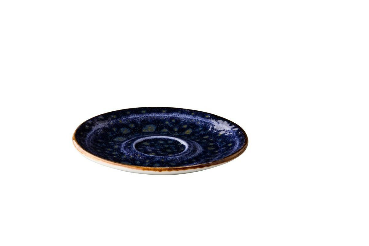 Q Authentic Jersey espressoschotel 13 cm donkerblauw