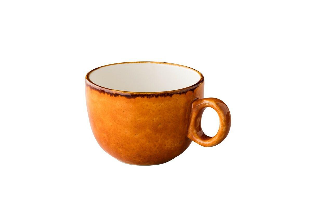 Q Authentic Jersey latte kop st.b. 35 cl oranje