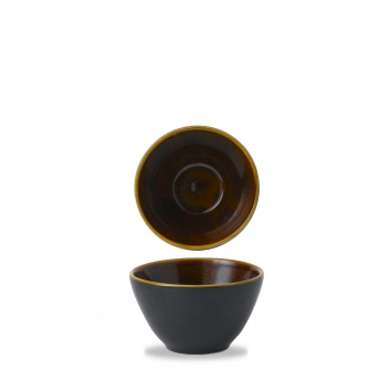Churchill Nourish Tokyo Black deep bowl 24 cl