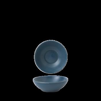 Churchill Nourish Oslo Blue shallow bowl 20 cl