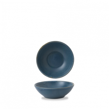 Churchill Nourish Oslo Blue shallow bowl 26 cl
