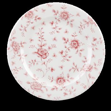 Churchill Vintage Cranberry Rose Chintz Plate 30,5 cm