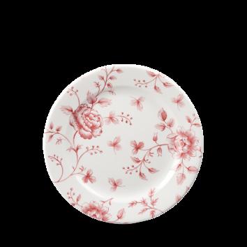 Churchill Vintage Cranberry Rose Chintz Tea Plate 17 cm