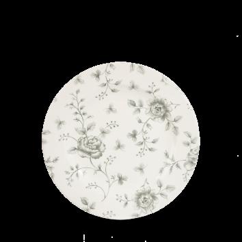Churchill Vintage Grey Rose Chintz Profile Plate 17 cm