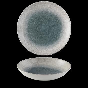 Studio Prints Raku Agate Topaz coupe bowl 24,8 cm