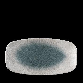 Studio Prints Raku Agate Topaz chef`s oblong plate 29,8 x 15,3 cm