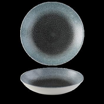Studio Prints Raku Topas Quarz coupe bowl 24,8 cm