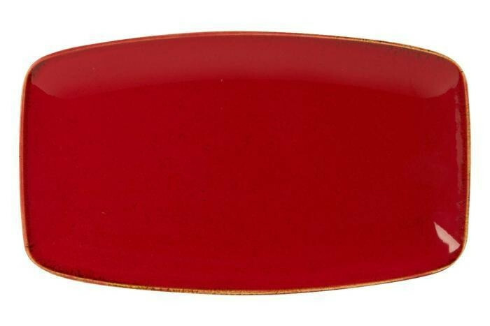 Porland Seasons Red oblong bord 31 x 18 cm