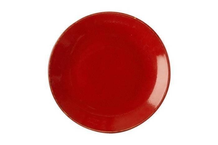 Porland Seasons Red coupe bord 18 cm