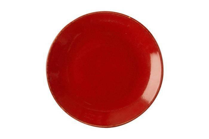 Porland Seasons Red coupe bord 28 cm