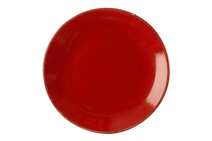 Porland Seasons Red coupe bord 30 cm