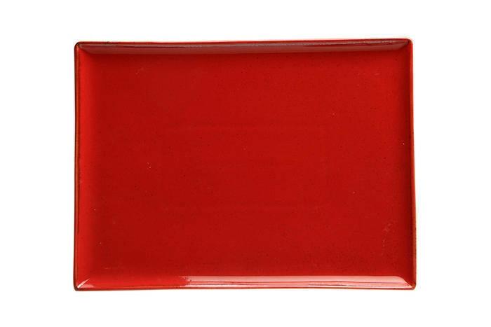 Porland Seasons Red oblong bord 27 x 21 cm