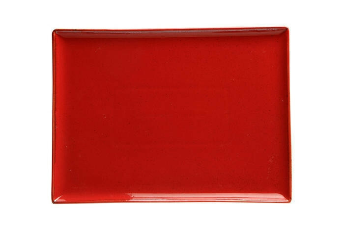 Porland Seasons Red oblong bord 35 x 25 cm
