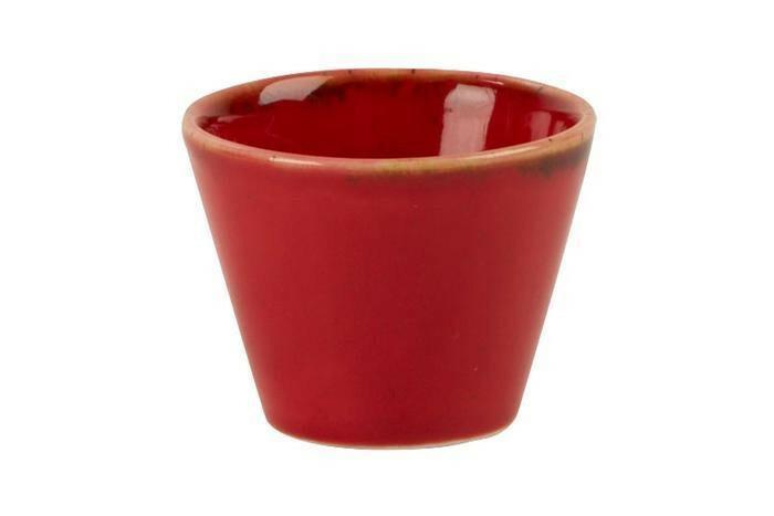 Porland Seasons Red bowl conisch 6 cm 4,7 cl