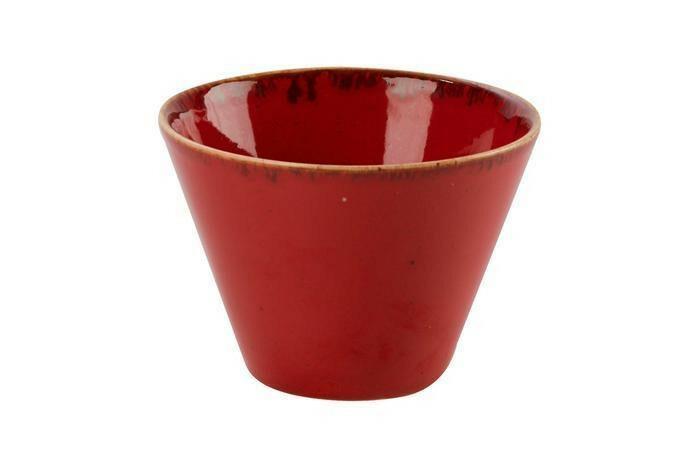 Porland Seasons Red bowl conisch 12 cm 39 cl