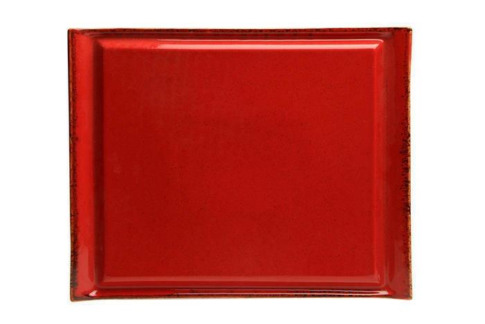 Porland Seasons Red steak bord RH 33 x 26 cm