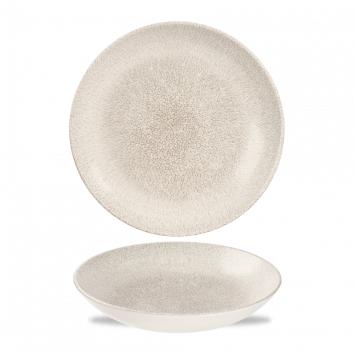Studio Prints Raku Agate Grey coupe bowl 24,8 cm