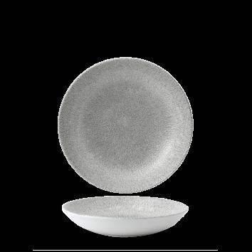 Studio Prints Raku Jasper Grey coupe bowl 18,2 cm