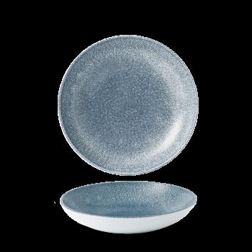Studio Prints Raku Topaz Blue coupe bowl 18,2 cm