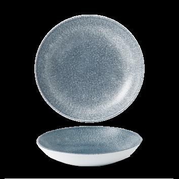 Studio Prints Raku Topaz Blue coupe bowl 24,8 cm
