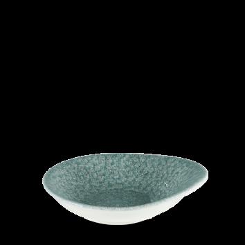 Studio Prints Raku Topaz Blue bowl 16 cm