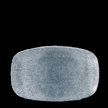 Studio Prints Raku Topaz Blue chef`s oblong plate 23,5 x 15,5 cm