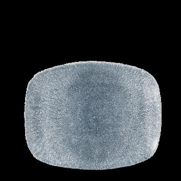 Studio Prints Raku Topaz Blue chef`s oblong plate 26 x 20 cm
