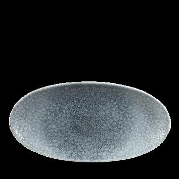 Studio Prints Raku Topaz Blue chef`s ovaal bord 29,9 cm