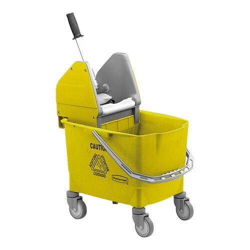 Rubbermaid dweildroogwagen * geel 25 Ltr