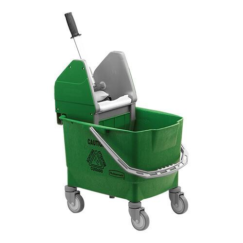 Rubbermaid dweildroogwagen * groen 25 Ltr