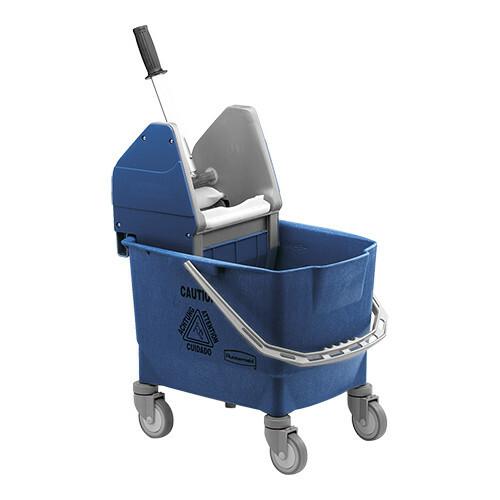 Rubbermaid dweildroogwagen * blauw 25 Ltr