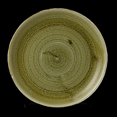 Stonecast Plume Olive coupe bord 26 cm
