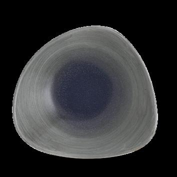 Stonecast Aqueous Fjord triangle bowl 23,5 cm
