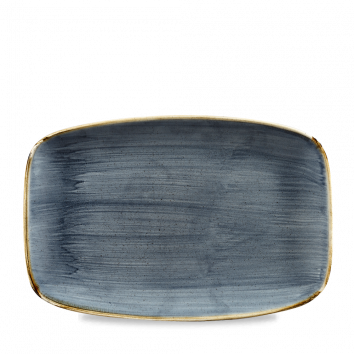 Stonecast Blueberry chef`s oblong plate 30 x 19,9 cm