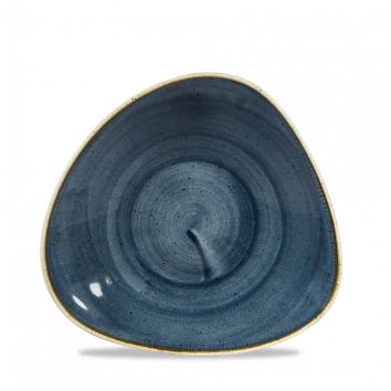 Stonecast Blueberry chef`s triangle bowl 23,8 cm