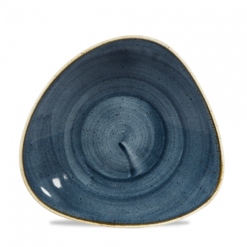 Stonecast Blueberry chef`s triangle bowl 27,8 cm