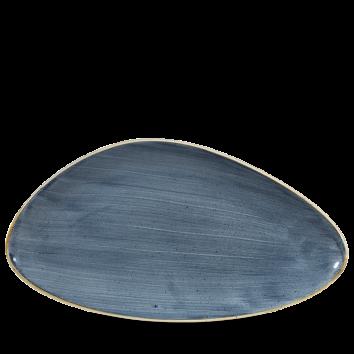 Stonecast Blueberry chef`s triangle bord 35 cm