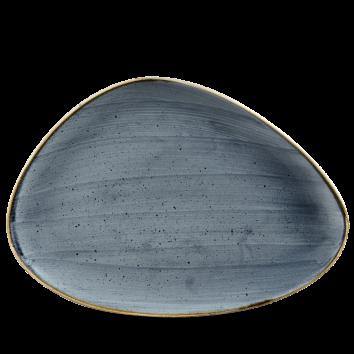 Stonecast Blueberry chef`s triangle bord 36 cm