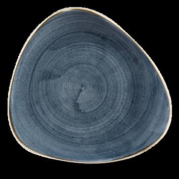 Stonecast Blueberry triangle bord 26,5 cm