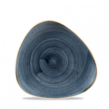 Stonecast Blueberry triangle bord 19,2 cm