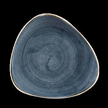 Stonecast Blueberry triangle bord 22,9 cm