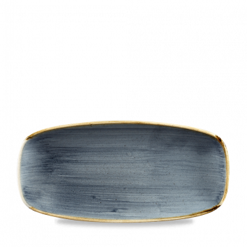 Stonecast Blueberry chef`s oblong plate 26,9 x 12,7 cm