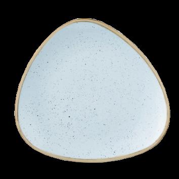 Stonecast Duck Egg Blue triangle bord 26,5 cm