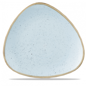 Stonecast Duck Egg Blue triangle bord 31,1 cm