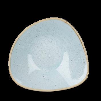 Stonecast Duck Egg Blue triangle bowl 18,5 cm