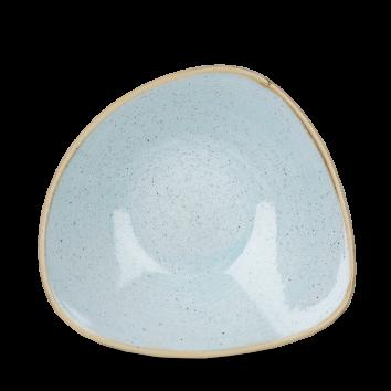 Stonecast Duck Egg Blue triangle bowl 23,5 cm